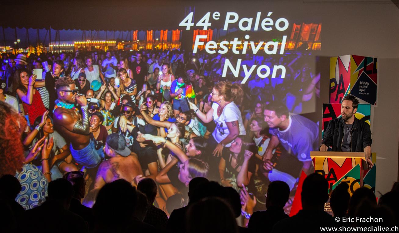 Conférence de presse du festival Paléo 2019