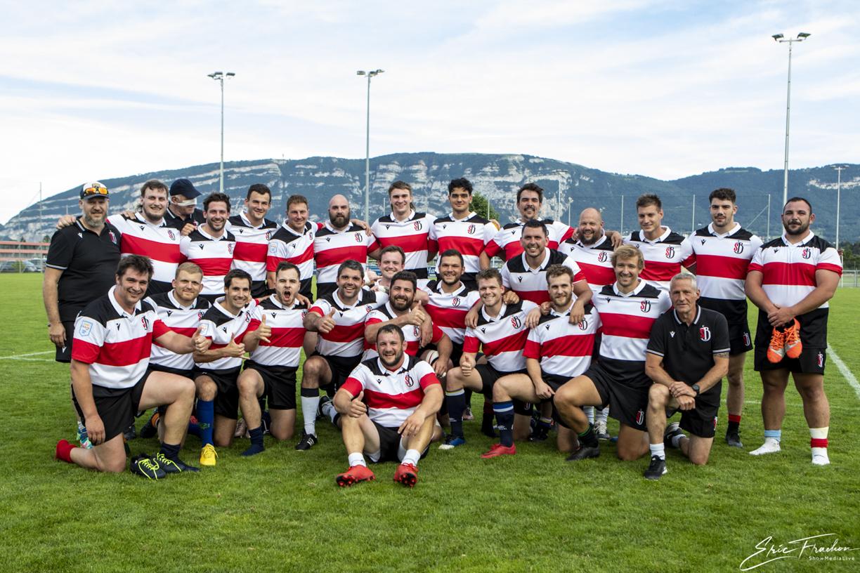 Trophée NAXOO – Servette RC – Barbarian Suisse – 25 – 29